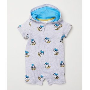 🌴5 for $8!🌴 Donald Duck Hooded One Piece